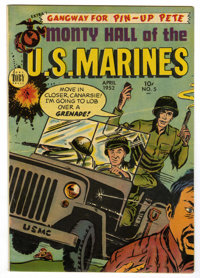 Monty Hall of the U. S. Marines #5 Mile High pedigree (Toby Publishing, 1952) Condition: VF-