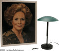 "Movie/TV Memorabilia:Props, ""The Truman Show"" Prop Group. Featured here is a prop painting ofactress Holland Taylor as the mother of Jim Carrey's chara..."