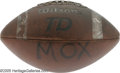 "Movie/TV Memorabilia:Props, ""Varsity Blues"" Prop Football. This Wilson TD football was used inthe 1999 football movie. Somewhat worn, with the hero's n... (1 )"