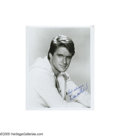 "Music Memorabilia:Photos Signed, Dean Martin Jr. Signed Photo. A rare black-and-white 8"" x 10"" portrait photo signed by Dean Paul Martin, son of entertainer ... (1 )"