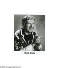 "Music Memorabilia:Autographs and Signed Items, Hank Snow Signed Photographs. Two 8"" x 10"" black-and-white photosof Canadian country music legend Hank Snow, each inscribed..."