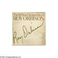 "Music Memorabilia:Autographs and Signed Items, Roy Orbison Signed Album. Here's a copy of the 1973 LP ""TheAll-Time Greatest Hits of Roy Orbison,"" signed by Orbison on the..."