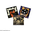 Music Memorabilia:Autographs and Signed Items, Black Sabbath, KISS, and Ozzy Osbourne Signed Albums. Included inthis lot is a copy of the 1982 re-release of Black Sabbat... (1 )
