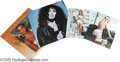 Music Memorabilia:Autographs and Signed Items, Cher, Whitney Houston, and Britney Spears Signed Items Group.Featured in this lot is a cover only for Cher's 1987 self-titl...(1 )