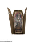 Music Memorabilia:Memorabilia, Allen Jaeger - Anne Rice Coven Ball Custom Coffin-framed Print(2000). As most of us know, old New Orleans was the place...