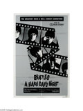 "Music Memorabilia:Posters Signed, Paul McCartney Signed Movie Poster. When it was released in 1964, nobody expected ""A Hard Day's Night,"" director Richard Les..."