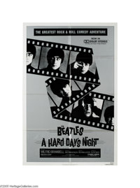 "Paul McCartney Signed Movie Poster. When it was released in 1964, nobody expected ""A Hard Day's Night,"" direct..."