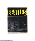 Music Memorabilia:Memorabilia, Beatles 1964 New Zealand Tour Book. One of the best covers of all the Beatles tour books is this 1964 live color shot. This ... (1 )