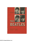 Music Memorabilia:Memorabilia, Beatles 1964 Australia Tour Book. Rarely seen in the U. S., this tour book is full of photos and bios on the band as well as... (1 )