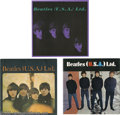 Music Memorabilia:Memorabilia, Beatles (U.S.A.) Ltd. Tour Books Group of 3. Here are all threetour books from the only three tours the Bealtes did in the ... (1)
