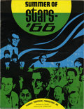 """Music Memorabilia:Memorabilia, """"Summer of Stars '66"""" Concert Book. This summer concert book wasgiven away free at many Chicago-area locations to promote t... (1 )"""