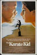 "Movie Posters:Sports, The Karate Kid (Columbia, 1984). Poster (40"" X 60""). Sports...."