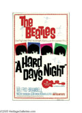 Music Memorabilia:Posters, A Hard Day's Night (United Artists, 1964) Plex Poster. Produced byDrew Fash and Company in the late 1980s, this is a great ...