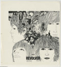 "Music Memorabilia:Miscellaneous, Beatles ""Revolver"" Slick. Proof slick for the famous cover by Beatles album cover artist Klaus Voormann. In very good condit... (1 )"