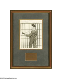 "Elvis Signed ""Jailhouse Rock"" Photo. An 8"" x 10"" black-and-white promo photo for the movie, inscribe..."