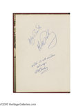 Music Memorabilia:Autographs and Signed Items, Elvis and Priscilla Presley Signed 1963 Yearbook. A copy of the1963 yearbook for Memphis East High School, signed by Elvis ...