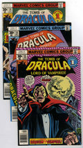 Bronze Age (1970-1979):Horror, Tomb of Dracula Group (Marvel, 1977-78) Condition: Average NM....(Total: 6 Comic Books)