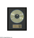 "Music Memorabilia:Awards, ""G. I. Blues"" Gold Album Award. Presented to Elvis Presley tocommemorate the sale of more than one million copies of the ""G..."