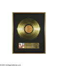 "Music Memorabilia:Awards, ""Blue Hawaii"" Gold Record Award. Presented to RCA Records tocommemorate the sale of more than 500,000 of the soundtrack to ...(1 )"