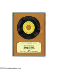 "Music Memorabilia:Recordings, Elvis Presley ""Good Rockin' Tonight"" b/w ""I Don't Care if the Sun Don't Shine"" Framed 45 Sun 210 Display (1954). This copy o..."