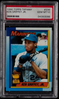 Baseball Cards:Singles (1970-Now), 1990 Topps Tiffany Ken Griffey Jr. #336 PSA Gem Mint 10.. ...