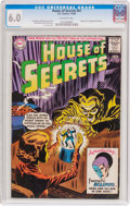 Silver Age (1956-1969):Horror, House of Secrets #61 (DC, 1963) CGC FN 6.0 Off-white pages....