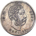 Coins of Hawaii , 1886 Medal Kalakaua Birthday -- Mount Removed -- PCGS Genuine. AUDetails. Medcalf 2RM-13....