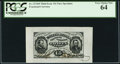 Fractional Currency:Third Issue, Fr. 1274SP 15¢ Third Issue Wide Margin Face PCGS Very Choice New 64.. ...