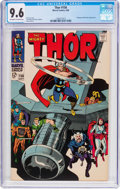 Silver Age (1956-1969):Superhero, Thor #156 (Marvel, 1968) CGC NM+ 9.6 Off-white to white pages....