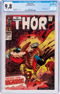 Silver Age (1956-1969):Superhero, Thor #157 (Marvel, 1968) CGC NM/MT 9.8 White pages....