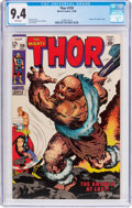 Silver Age (1956-1969):Superhero, Thor #159 (Marvel, 1968) CGC NM 9.4 White pages....