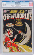 Silver Age (1956-1969):Science Fiction, Showcase #17 (DC, 1958) CGC VG 4.0 Cream to off-white pages....