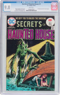 Bronze Age (1970-1979):Horror, Secrets of Haunted House #1 (DC, 1975) CGC NM/MT 9.8 Whitepages....