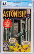 Silver Age (1956-1969):Horror, Tales to Astonish #1 (Atlas, 1959) CGC VG+ 4.5 Off-white to whitepages....