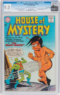 Silver Age (1956-1969):Science Fiction, House of Mystery #143 Rocky Mountain Pedigree (DC, 1964) CGC NM-9.2 Off-white to white pages....