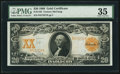 Large Size:Gold Certificates, Fr. 1182 $20 1906 Gold Certificate PMG Choice Very Fine 35.. ...