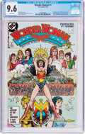 Modern Age (1980-Present):Superhero, Wonder Woman #1 (DC, 1987) CGC NM+ 9.6 White pages....