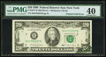 Error Notes:Foldovers, Fr. 2077-B $20 1990 Federal Reserve Note. PMG Extremely Fine 40.....