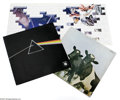 """Music Memorabilia:Recordings, Pink Floyd LP Group Lot. This three-album lot features a quad-mixversion """"Atom Heart Mother"""" (1970) printed in England and ... (1 )"""