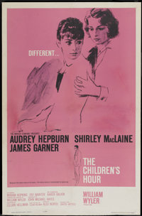"""The Children's Hour (United Artists, 1962). One Sheet (27"""" X 41""""). Drama"""