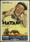 "Movie Posters:Adventure, Hatari! (Paramount, 1962). Italian 2 - Folio (39"" X 55"").Adventure...."
