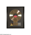 "Music Memorabilia:Awards, Dokken ""Under Lock and Key"" Gold Record Award. Presented to MarioMaglieri (on his 75th birthday) to commemorate the sale of..."