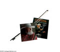 Music Memorabilia:Autographs and Signed Items, Charlie Daniels Fiddle Bow and Signed Items Group. Included here isa fiddle bow owned and used by country legend Charlie Da...