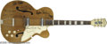 Musical Instruments:Electric Guitars, Memphis Gang Signed Guitar. Here is a vintage Silvertone electricguitar signed by Memphis soul and blues giants Isaac Hayes...