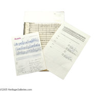 """Frank Sinatra """"Rain or Shine"""" Arrangement by Don Costa. Included is a set of photocopy sheet music (very good..."""