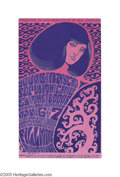 Music Memorabilia:Posters, The Doors - First San Francisco Show Handbill (Bill GrahamPresents, 1967). This beautiful handbill announces the firstshow...