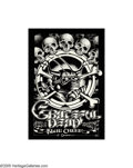 Music Memorabilia:Posters, Grateful Dead - Shrine Auditorium Concert Poster (1975). The lateRick Griffin is considered one of the greats in psychedeli...