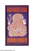 Music Memorabilia:Posters, Grateful Dead - New Year Bash (Bill Graham Presents, 1966). Thisposter promotes the first of Bill Graham's legendary New Ye...