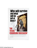 "Music Memorabilia:Posters, Texas Chainsaw Massacre Signed Poster. The godfather of the modernslasher movie, ""The Texas Chainsaw Massacre"" still ranks ... (7Items)"