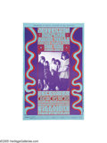 Music Memorabilia:Posters, Jefferson Airplane - Fillmore Auditorium Concert Poster (BillGraham Presents, 1966). What do you get when you combine one o...